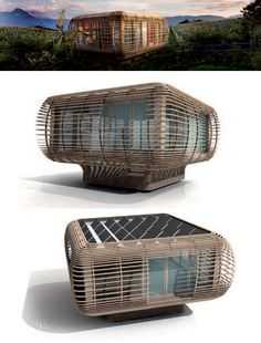 Fincube is a new project from Studio Aisslinger — a modular, sustainable and transportable low-energy home.