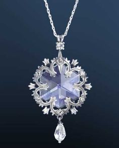 Snowflake Pendant from The Noble Collection. $97.50. I need this!! It's so gorgeous, and I have it.