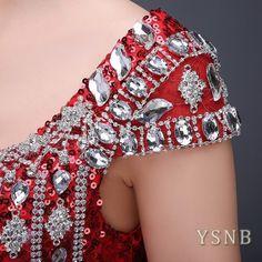 Mulheres Lantejoulas formal para madrinhas e damas de honra noite baile vestido de noiva festa de formatura, tamanho