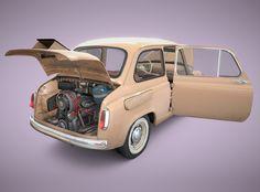 car zaz-965 retro 1960-69 max