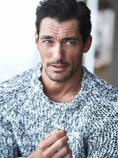 David Gandy on the cover of the April issue of Codigo Unico. David is photographed by Hunter and Gatti. David Gandy Style, David James Gandy, Famous Male Models, Androgynous Models, British Men, Perfect Man, Gorgeous Men, Hello Gorgeous, Supermodels