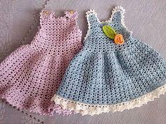 Вяжем крючком сарафанчик для текстильной куколки. Часть 2: юбочка и декоративная отделка - Ярмарка Мастеров - ручная работа, handmade