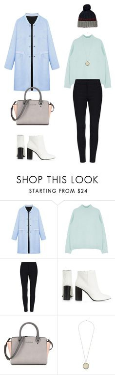 """""""Pretty Little Pastel"""" by amlhrs ❤ liked on Polyvore featuring WithChic, House of Harlow 1960, women's clothing, women's fashion, women, female, woman, misses and juniors"""
