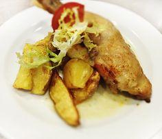 Denné menu Vranov | Kurča na spôsob bažanta, pečený zemiak - reštaurácia Hotel Patriot*** #hotel #restaurant