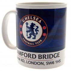 - ceramic mug- approx tall, in diameter- 11 oz- in a printed card box- official licensed product Chelsea Football, Chelsea Fc, Chelsea Wallpapers, London, Mugs, Tableware, Gifts, Big Ben London, Dinnerware