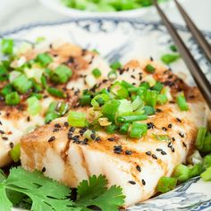 Frugal Food Items - How To Prepare Dinner And Luxuriate In Delightful Meals Without Having Shelling Out A Fortune Ginger Soy Asian Steamed Fish Chew Out Loud Fish Dishes, Seafood Dishes, Seafood Recipes, Main Dishes, Seafood Platter, Healthy Recipes, Asian Recipes, Cooking Recipes, Steamed Fish Recipes Healthy