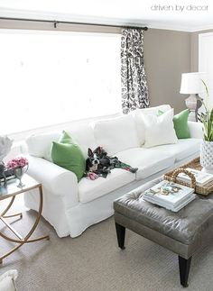 If you're on the hunt for furniture that's stylish but inexpensive, I'm sharing the best low-cost, high style sofas, media consoles, & coffee tables!