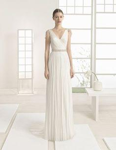 Vestidos de novia para mujeres con mucho pecho 2017: Diseños que te harán lucir fantástica Image: 1