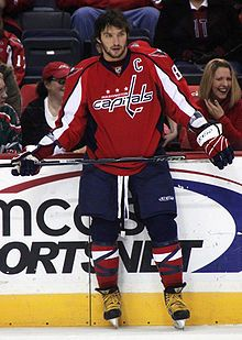 Alex Ovechkin - one of the FEW non-Red Wings I'm a fan of!