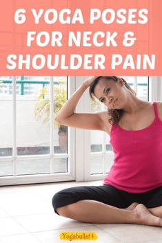 Can yoga help with neck pain and tight shoulders? You betcha! These 6 easy yoga poses for neck and shoulders will help you relax your painful muscles. Yoga Fitness, Fitness Tips, Posture Correction Exercises, Morning Yoga Flow, Beautiful Yoga Poses, Neck Yoga, Yoga Moves, Yoga Workouts, Stretching Exercises
