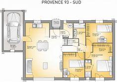 Plan maison neuve à construire - Maisons France Confort Provence 93