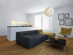 RoomReveal - Modern living area - Altro Studio by Altro Studio Barbara Kamińska