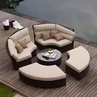 Outdoor Wicker Furniture, Outdoor Decor, Sofa Bed Set, Rattan Daybed, Garden Sofa, 3d Max, Furniture Manufacturers, Quality Furniture, Design