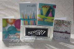 Stamp-Patty's: SIMPLE, clean, and FAST Birthday Cards