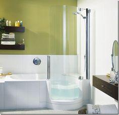 Small Bathroom Drop In Tub
