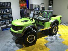 2014 Sema show custom golf cart raptor