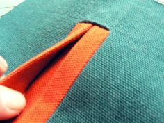 Placket Pocket ~tutorial~  I never perfected this relatively simple procedure - but I always loved the look of the well made placket pocket or button hole.  I'm pinning to remind me this is something I want to master!!! (can they teach an old dog new tricks??  we'll see! ; )