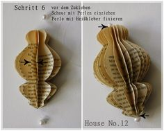 House No.12: Filigrane Papierkunst - DIY