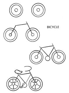 How To Draw A Bike Bike Art Drawings And Art Lessons
