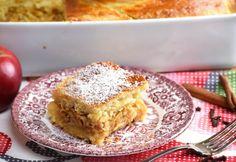 Fűszeres almás béles tejfölös tésztával Krispie Treats, Rice Krispies, Orzo, Apple Pie, My Recipes, Banana Bread, French Toast, Muffin, Baking