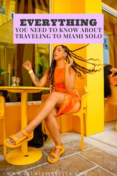 the solo traveler's guide to Miami Beach Florida, where to stay luxury hotel Miami Beach, Miami Beach travel guide, where to eat in Miami Beach, what to pack for Miami, black girl in luxury Miami Miami Florida, Miami Beach, Solo Vacation, Build A Wardrobe, North Beach, Girl Guides, What To Pack, Beach Travel, Vegan Lifestyle