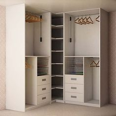 closet layout 347058715038885027 - Corner Closet Layout 66 Ideas Source by katieeroe Bedroom Cupboard Designs, Wardrobe Design Bedroom, Bedroom Cupboards, Closet Bedroom, Bedroom Storage, Home Decor Bedroom, Kitchen Cabinets, Corner Closet, Corner Wardrobe