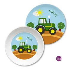 Teller, Plates, Tableware, Stocking Stuffers, Names, Birth, Licence Plates, Dishes, Dinnerware