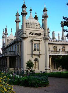 The Royal Pavilion ~ Brighton, England