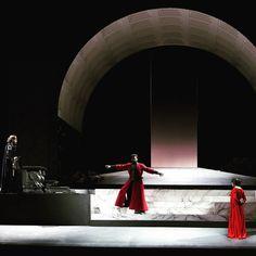 """Attila"" - Astana Opera (2013) #scenography #scenografia #teatro"