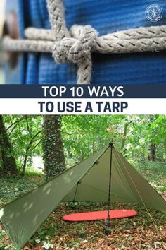Top 10 Ways to Use A Tarp - This article is very useful as it gives a detail of how exactly you can utilize your trusty tarp to its full benefit. It gives you detailed information about the situations you can use it. You also have to be careful about the type of tarp you pick and the best part is that this #tarps #lifehacks #summerhacks #howtousetarps #prepping #preparedness #shtf