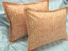 Custom Made BOUDOIR Pillow Shams   Ralph Lauren by Sew1Pretty, $24.00