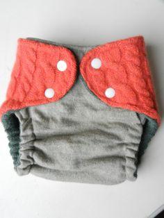 Such a cute cloth diaper cover!
