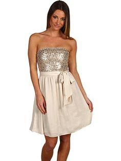 Rebecca Taylor - Sequin Strapless Dress