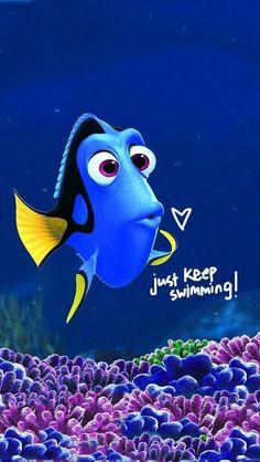 Solo sigue nadando!