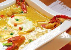 Peruvian food: Chupe de camarones