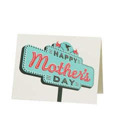 Hammerpress Happy Mother's Day Sign #cards