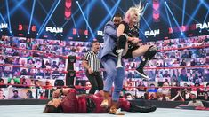 The must-see images of Raw, June 14, 2021: photos Wwe Photos, Cool Photos, Nia Jax, Jeff Hardy, Drew Mcintyre, Wwe Champions, Aj Styles, See Images