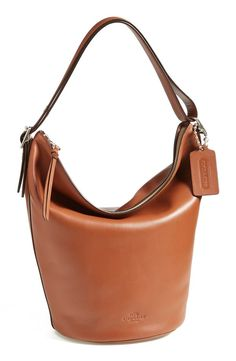 COACH 'Legacy Duffle' Leather Shoulder Bag   Nordstrom #nsale #nordstromanniversarysale