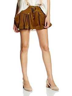 Belstaff Shorts Crawford Peplum (Brandy)