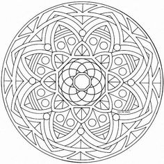 In these pages you will find our Mandalas coloring pages made to help you feel better. To Tibetans, mandalas are the Architecture of Enlightenment. A mandala creates a temple in two dimensions, and this temple . Mandala Coloring Pages, Coloring Book Pages, Printable Coloring Pages, Celtic Mandala, Mandala Art, Geometric Mandala, Zentangle Patterns, Mandala Pattern, Zentangles