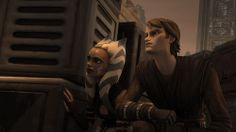 Ahsoka: We'll find them, Master! Anakin: Well, we have a little break ... *kisses Ahsoka* Ahsoka: *_*
