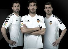 Valencia CF 2015/16 adidas Home Kit