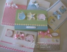 Baby cards and a LIST of CARDS for EVERY occasion