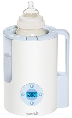 I tried to resist getting another baby appliance but this makes warming milk so much easier. The best on the market. Munckin Precison Bottle Warmer