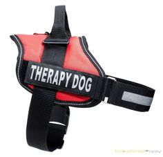 Therapy Dog Vest Hand Amp Paw 24 95 Bark And Stuff