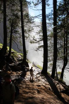 Mist Trail, Yosemite via Trail Hikers
