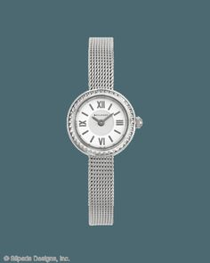 Always Elegant Watch, Watches - Silpada Designs.  This delicate Stainless Steel timepiece will pair perfectly with your pretty jewels. Item Number: T3138 Shop here -->> www.mysilpada.com/jennifer.whipple