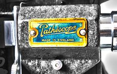 Pathescope - old 9mm film equipment documented @ The Factory Studios Boscombe
