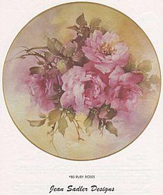 Jean Sadler Roses | ARTchat - Porcelain Art Plus (formerly Chatty Teachers & Artists ...