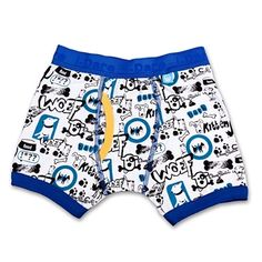 DOGGIE BLUE BOXER SHORT BY IDARE